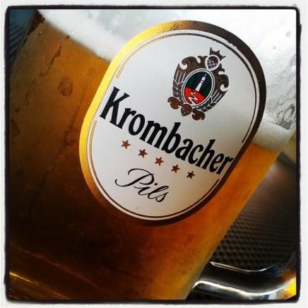 Pils soft drink by Krombacher