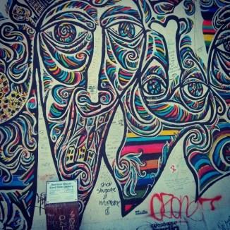 #Berlin wall art
