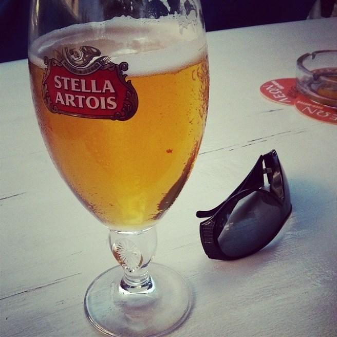 Pint after work
