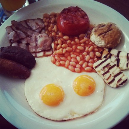 Chesters breakfast