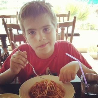 Spaghetti guy