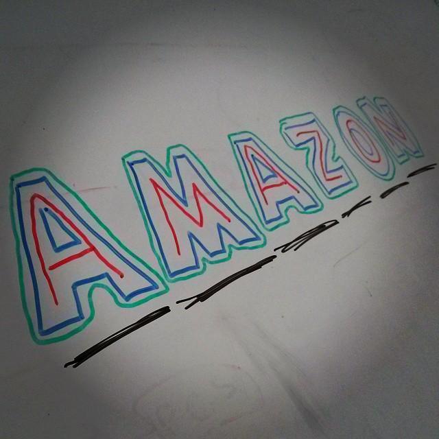 #Amazon #AWS #office #whiteboard #love