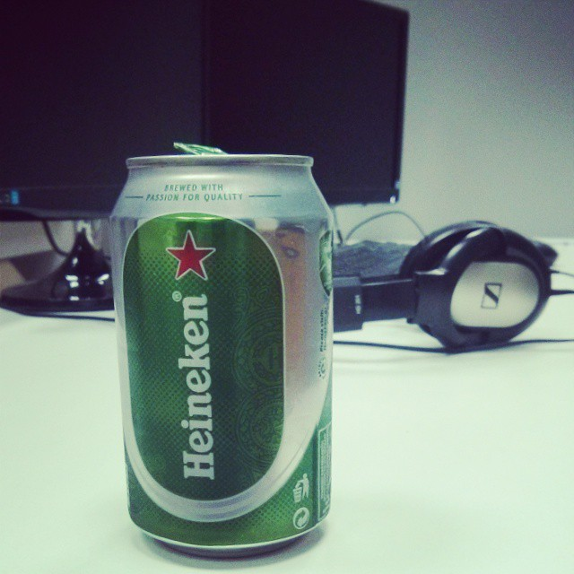 End of the working day #beer