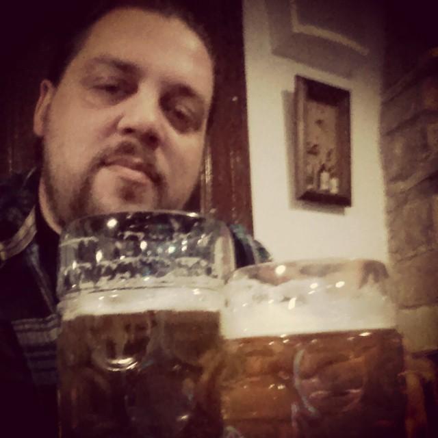 1L mug in Bavarian #beer