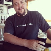 I read your email. With a pint