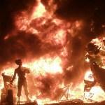 バレンシアの火祭りの画像