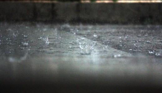 ゲリラ豪雨が起こる仕組みは?地球温暖化が原因?