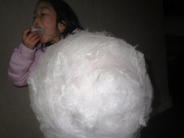 綿あめの画像