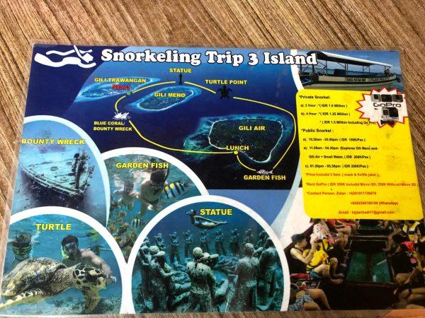 giri island Snorkeling Trip 3 island