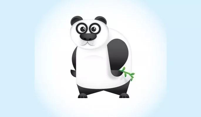 Vector Panda Character - Collection of useful illustrator tutorials