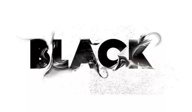 BLACK - Amazing and inspiring typography designs