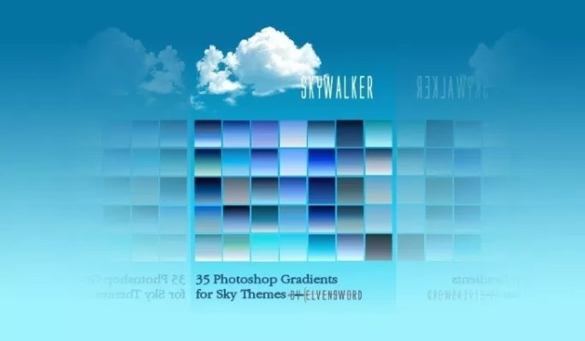 Skywalker PS - Free Gradients Color for Photoshop