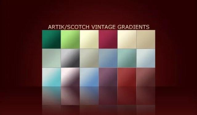 Vintage Gradients - Free Gradients Color for Photoshop