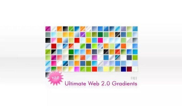 Web 2.0 Gradients - Free Gradients Color for Photoshop