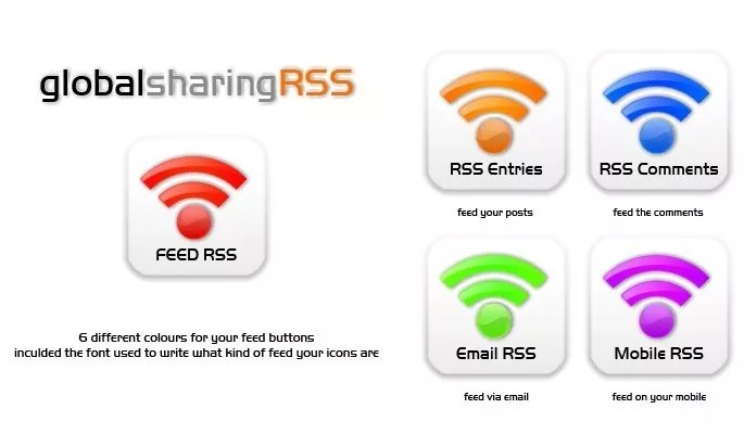 globalsharing RSS - Free RSS Feed Icons