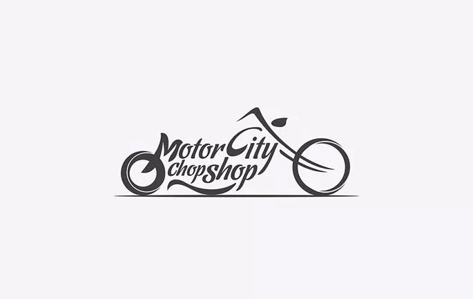 motor city chop shop - Inspiration Logo design