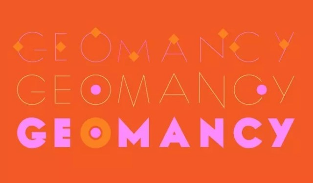 Geomancy Typefaces - 18 High quality free fonts for creative designs