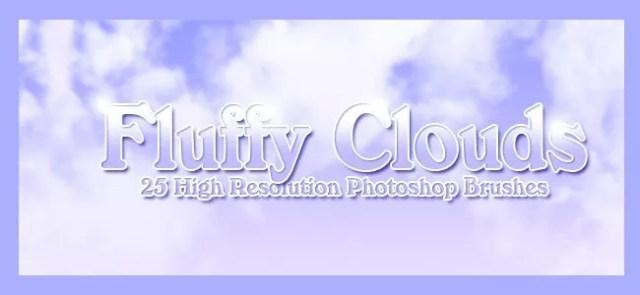 Cloud Brushes13 - 40+ Beautiful Photoshop Cloud Brushes