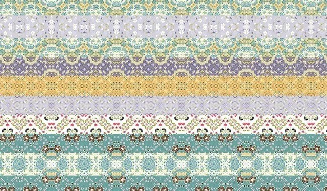 Floral Patterns - Collection of free Photoshop patterns