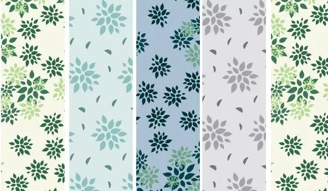 Grandmas Flowers - Collection of free Photoshop patterns