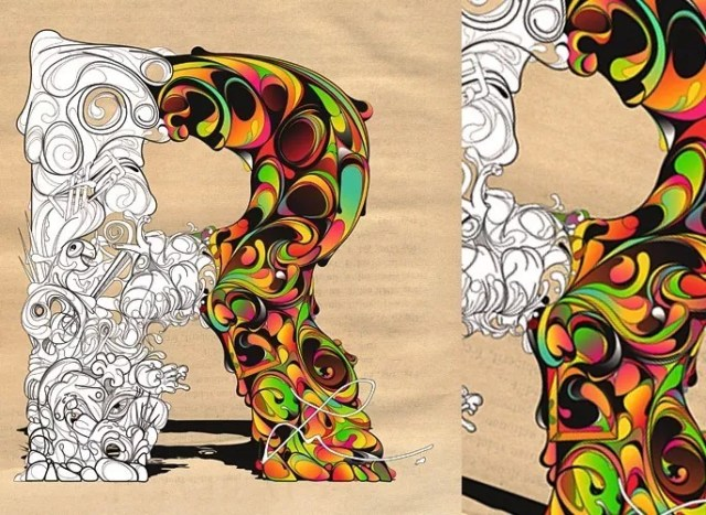 Le Grand Cirque Des Couleurs - 23 of Inspirational Typography