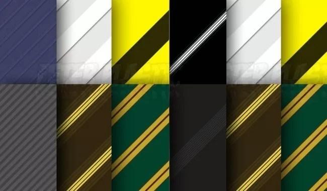Photoshop Stripe patterns 2 - Collection of free Photoshop patterns