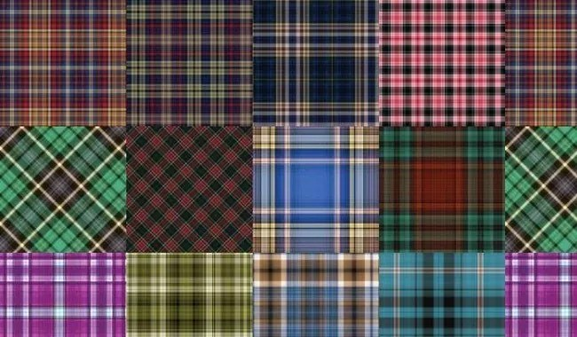 Plaid Patterns Set 4 - Collection of free Photoshop patterns