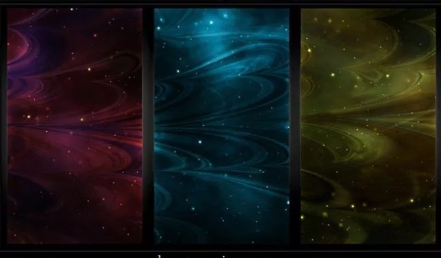 Seamless Abstract Nebula Textures - Collection of free Photoshop patterns