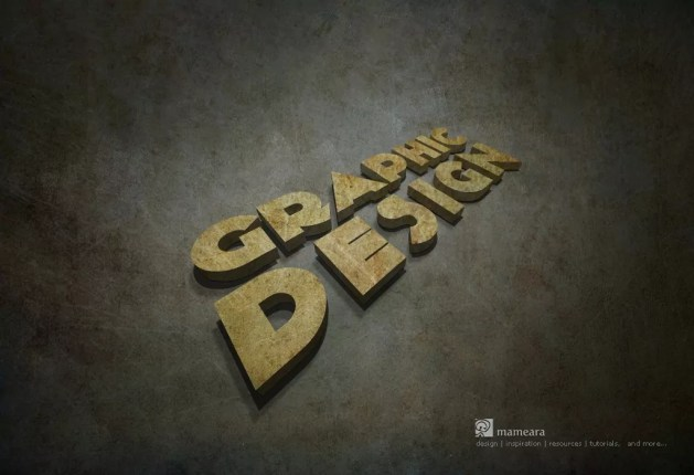 1024x768px - 3D Text Tutorial With Illustrator and Photoshop