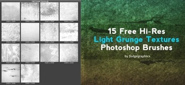 14 Free Hi Res Photoshop Brushes - 450+ Free Grunge Photoshop Brushes