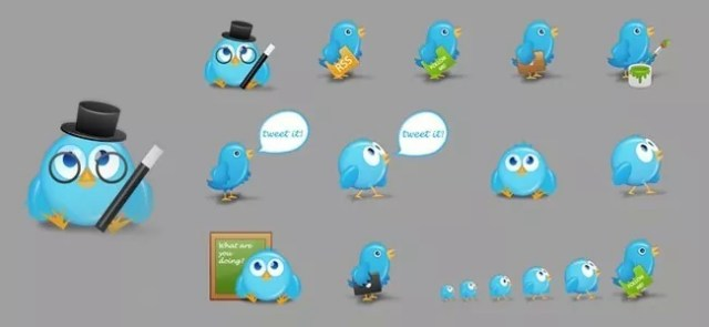 A Free Twitter Icon Set - Free High-Quality Icon Sets