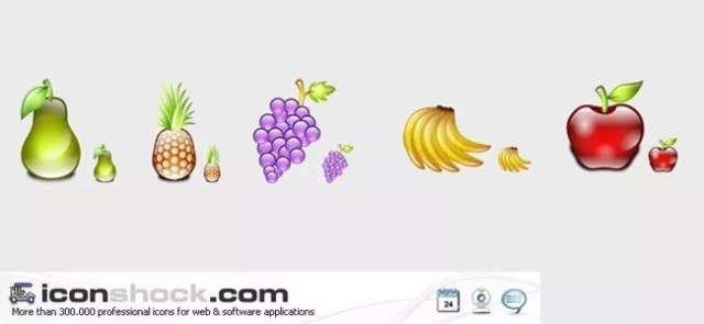 Delicious Fruits Icons - Free High-Quality Icon Sets