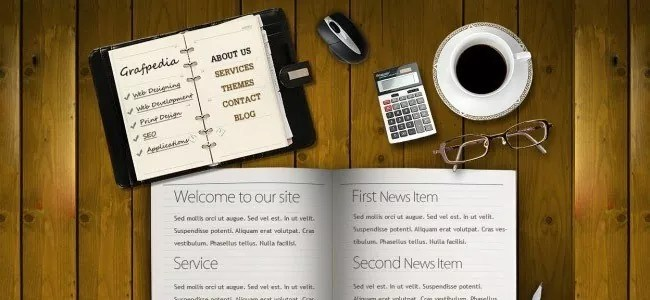 Design a realistic website layout in photoshop - 21 Photoshop Web Design Layout Tutorials