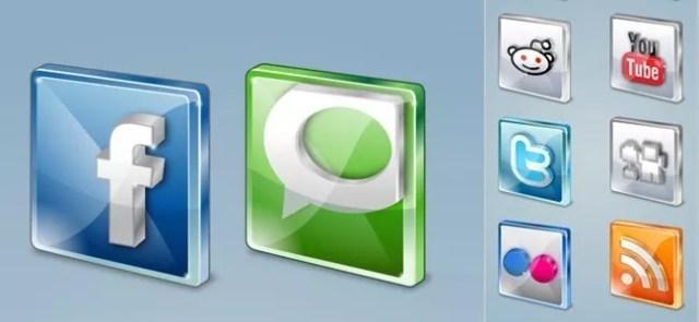 Free social icons - Free High-Quality Icon Sets