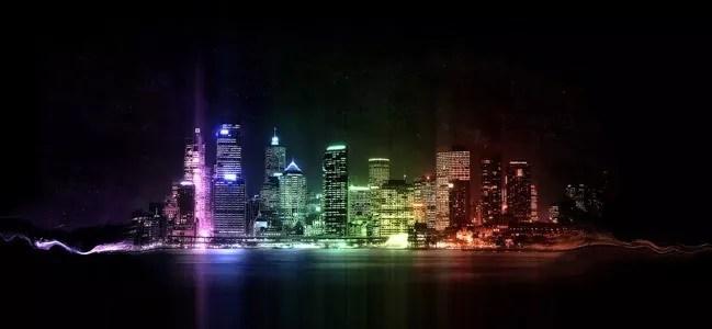 Rainbow City - Amazing high resolution wallpapers #2