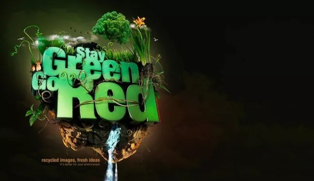 Stay Green - 30 of Inspirational Typography Vol#03