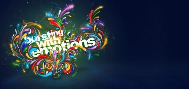 color emotions - 30 of Inspirational Typography Vol#03
