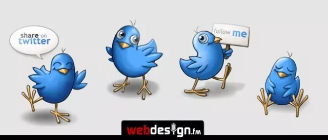 twitter15 - Twitter Icons and Buttons Collection For Your Next Design