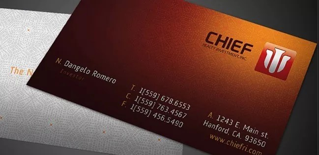 Business Cards 02 - 20+ Business Card Design Examples