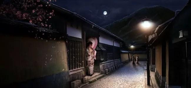 Sleepy Japanese Village - 19 Photo Manipulation Tutorials for Photoshop #2