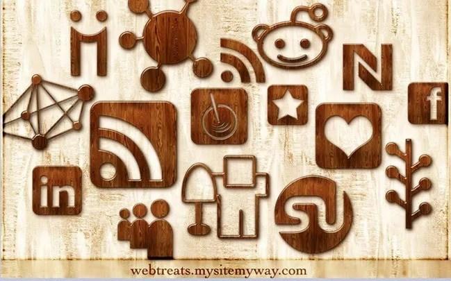 Social icons03 - 25 Set of Amazing Free Social Icons