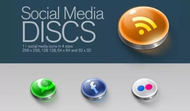 Social icons15 - 25 Set of Amazing Free Social Icons