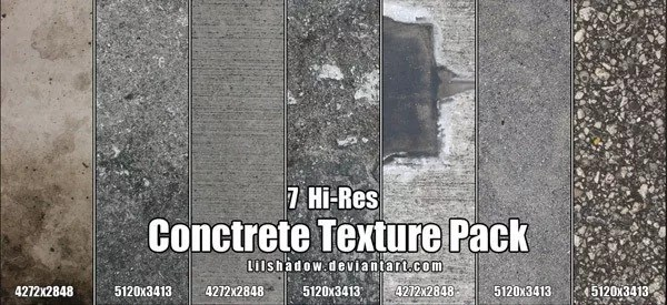 Concrete texture 4 - +100 Free High Resolution Concrete Textures