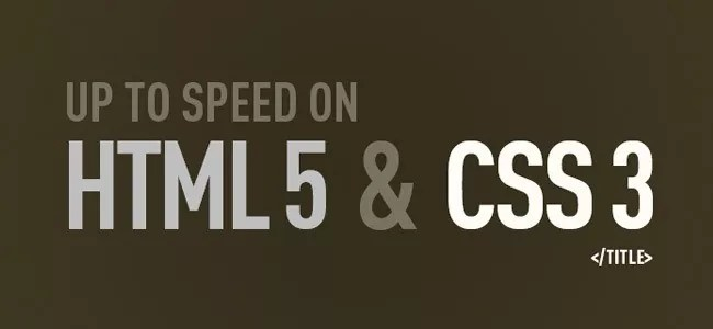 HTML CSS - 50 Free e-Books for Web Developers and Designers