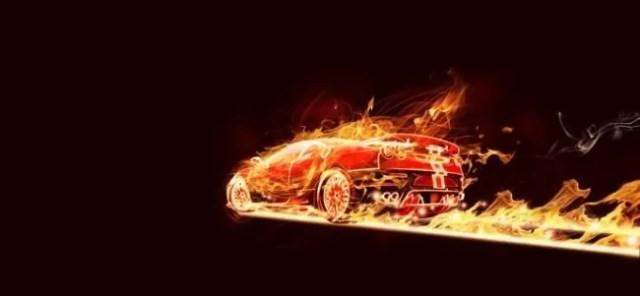 flaming car tutorial e1323186712303 - 40 Best Photoshop Tutorials From 2011
