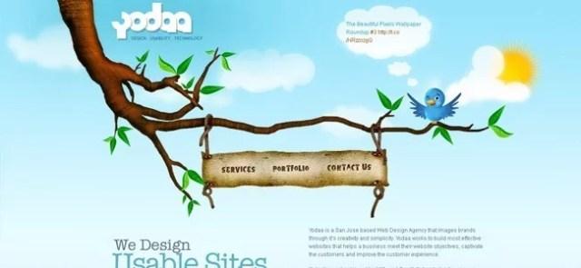 yodaa - 45 Rousing One Page Website Design Showcase