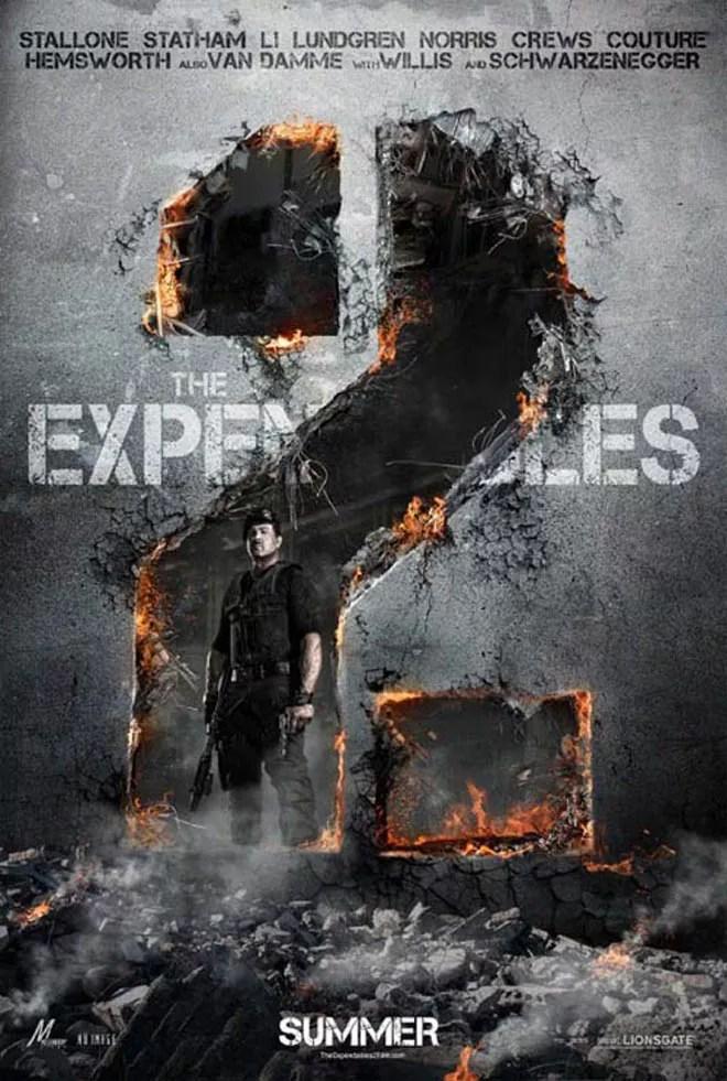 4 - 20 Blockbuster Movie Posters Releasing in 2012