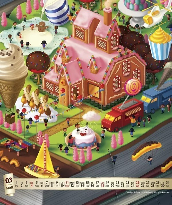 60998311cd51c5d206c7fec2608d20bc - 13 Amazing Calendar Designs of 2012