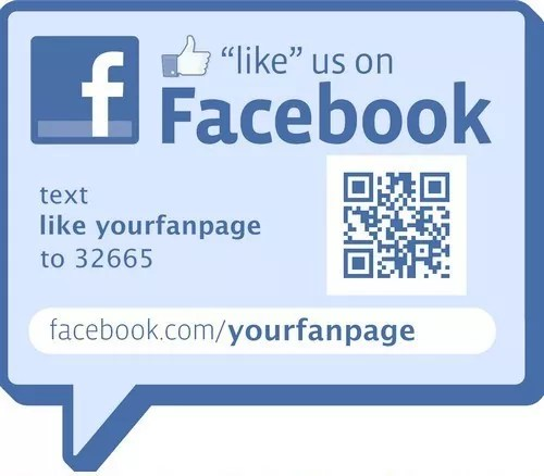 Use QR Codes - 7 Clever Ways of Promoting Your Business Fan Page