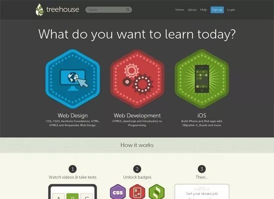 html5 Team Tree House - Fresh Inspirational Set of HTML5 Websites